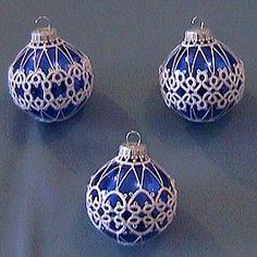 Free Tatting Patterns Beginners | Dreams of Lace: Tatting Showcase - Christmas Ornaments