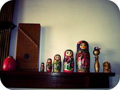 folksy...i'd really love an authentic Russian babushka doll