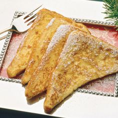 Eggnog French Toast | Recipes | Incredible Edible Egg
