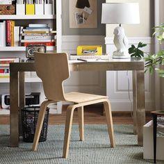 wall colors, galveston gray, paint color, office desks, metal