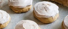 Pumpkin Cookies with Cinnamon Sugar Frosting | Land O'Lakes