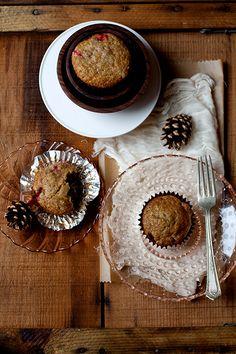 Recipe: Pear Cranberry Muffins