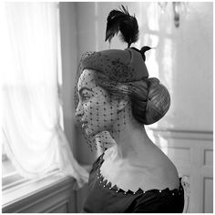 Wiet Palar Couture Barend van den Brink, 1953.  Photo by Hans Dukkers