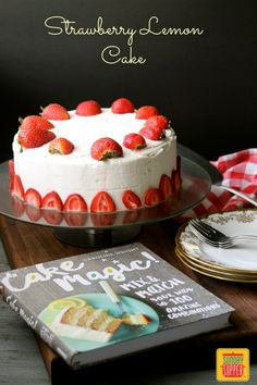 Strawberry Lemon Cak