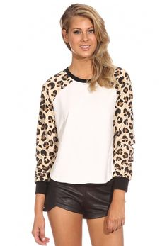 White Leopard Long S