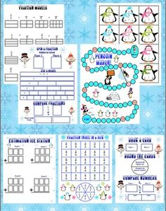 Make your classroom a Common Core winter wonderland with these super fun math games! All games were designed specifically for the third grade Common Core Standards. $