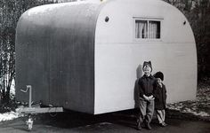 Alliance trailer, c. 1951 | Flickr