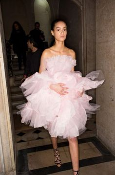 49+ ideas fashion show backstage models giambattista valli #fashion | Pin discovered by Kelly's Closet Bridal Boutique in Atlanta, Georgia