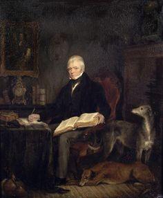 Portrait of Sir Walter Scott