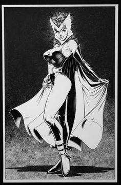 Scarlet Witch by Art Adams