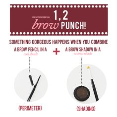Two clever tricks for simply stunning brows. Click on the picture to see the end result!