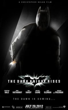 'the Dark Knight rises' poster by AndrewSS7