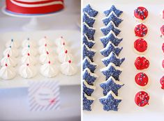 4th of July treats and sweets
