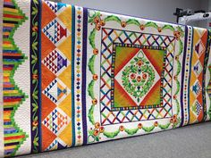 That Crazy Quilty Girl ~ McLisa Tangerine Starfish Sipes   How on earth can one person have this much talent!?!?