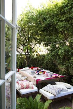 10 Of The Most Beautiful Al Fresco Dining Setting