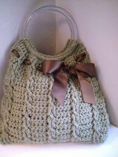Camille's purse: free crochet pattern