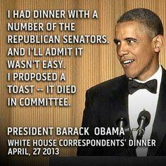 AHAHAHAH white houses, fans, presid obama, funni, dinners, polit, toast, hous correspond, barack obama