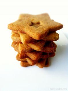 Healthy Sugar Cookies:      1 1/2 Cups Almond Flour      1/4 Cup Coconut Oil      1/4 Cup Agave (Maple Syrup, Stevia or Honey)      1/4 Tsp Baking Soda      Dash Salt