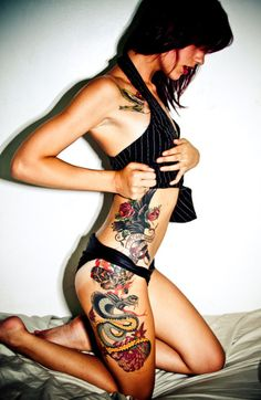 #Sexy #girl #tattoo