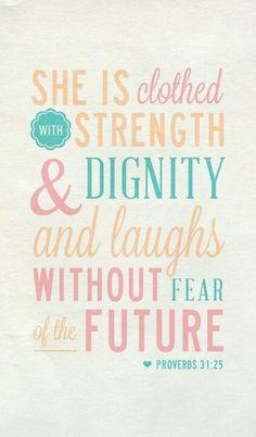 proverbs 31:25 <3