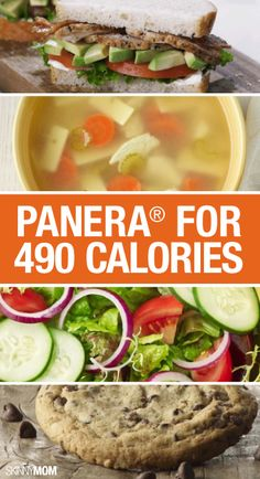 If you're craving some Panera but want to watch the calories, check out your options