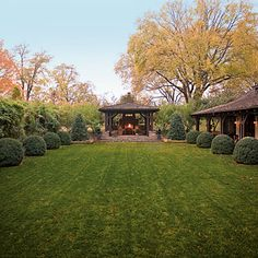 Backyard Pavilion - Outdoor Rooms - Southern Living