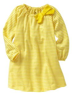 Perfect yellow dress!