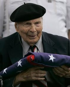 Thank you for your Service, Frank Buckles -last living U.S. WWI vet, Feb. 27, 2011 age 110.