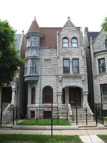 Ida B. Wells-Barnett House is a Chicago Landmark and National Historic Landmark.