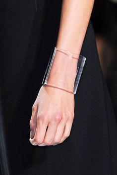 -Lucite bracelet