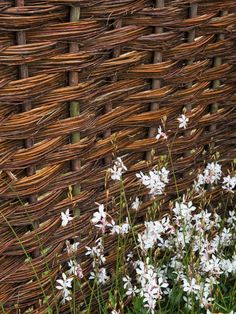 Hand Woven Panels Perfect for English Style Garden