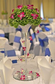 Royal blue +  Green + Pink Wedding #Wedding #Planning ideas https://itunes.apple.com/us/app/the-gold-wedding-planner/id498112599?ls=1=8 tips on how to keep your costs down ♥ #pale #pastel #pink #green #wedding #bride #bouquet #corsages #boutonnieres #ceremony #cake #reception ♥ More pink wedding ideas http://pinterest.com/groomsandbrides/pastel-pink-wedding/