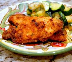 Oven Fried Chicken! {Recipe Included}
