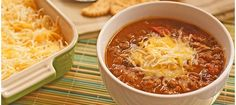 Slow Cooker Pumpkin and Bean Chili | At This Mama Cooks! On a Diet! thismamacooks.com