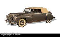 Edsel Ford's '41 Continental, which he designed. The man was a genius designer & wise businessman, and he died far, far too soon.