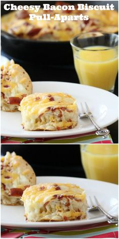 Cheesy Bacon Biscuit Pull-Aparts!