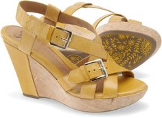 These are what I picked for summer. They are already showing wear on the back of the heel from driving. Wah! ~Auretha
