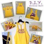 DIY Workout Shirts