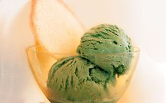 Green Tea Ice Cream: 2000s Recipes + Menus : gourmet.com