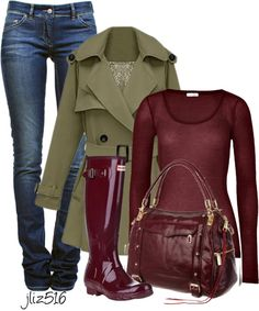 """Galoshes Galore Contest"" by jliz516 on Polyvore"