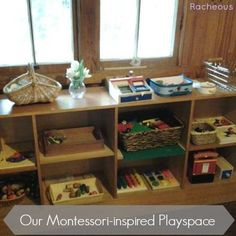 Our Montessori-inspired Playspace | Racheous - Lovable Learning