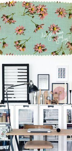 office spaces, desk glass, white scandinavian, office looks, organized office