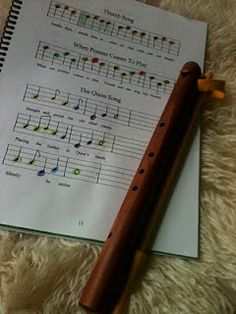 flute story to start teaching recorder with