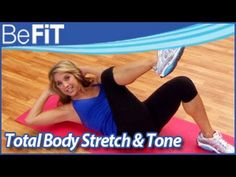 ▶ Total Body Yoga Stretch & Tone Workout: Denise Austin- Shape Up and Shed Pounds - YouTube
