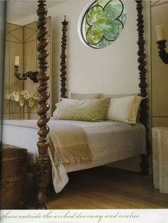 Spindle Bed AND an amazing window!