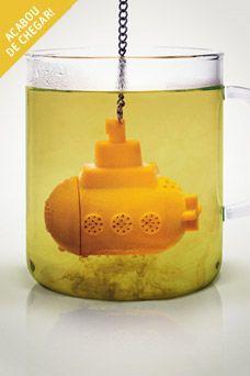 Infusor de Cha Yellow Submarine