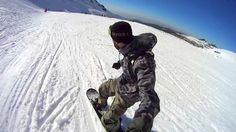 Shot with a Sony Action Cam #snowboarding