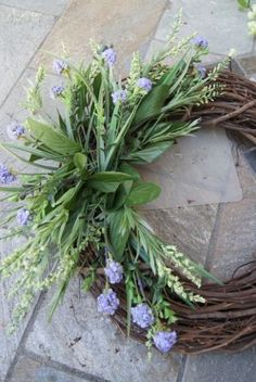 Easy DIY Summer Wreath