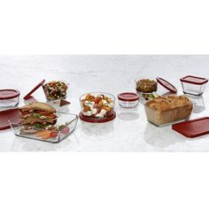 A healthy alternative to plastic, glass food storage is non-toxic, dishwasher, microwave, oven, & freezer safe. It's the perfect choice for storing, reheating, and transporting food. anchors, kitchen storage, foods, glasses, food storage, anchor win, dishwashers, kitchen food, anchor hock