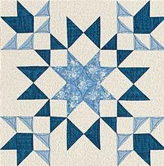 Midnight Garden... free quilt block download